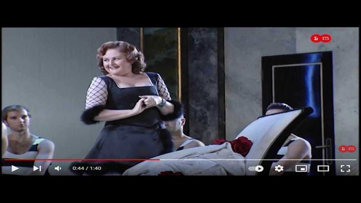 La cantante de ópera Edita Gruberova, conocida como Reina de la Coloratura.