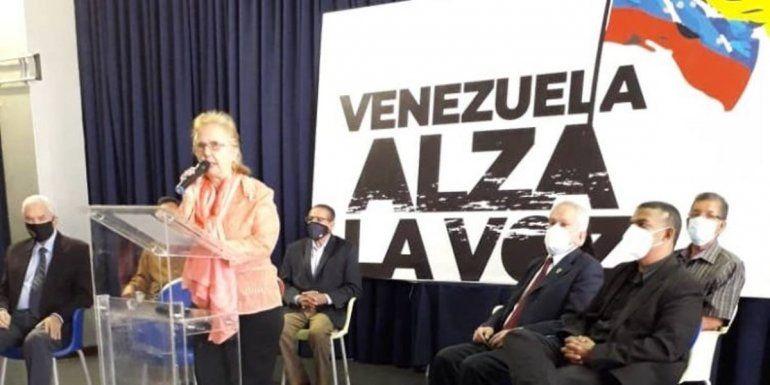 """Miembros de distintos sectores de la sociedad civil anunciaron la firma de una """"proclama"""" para sumarse al llamado a participar en el proceso de Consulta Popular."""