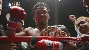 Herencia asiático-americana: Manny 'Pacman' Pacquiao, único boxeador de la historia que ha logrado nueve títulos mundiales en ocho categorías diferentes