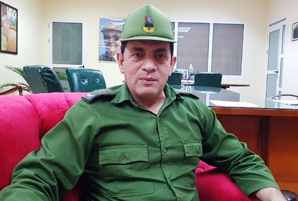 El primer secretario del PCC en Camagüey, Ariel Santana Santiesteban en cuarentena por COVID