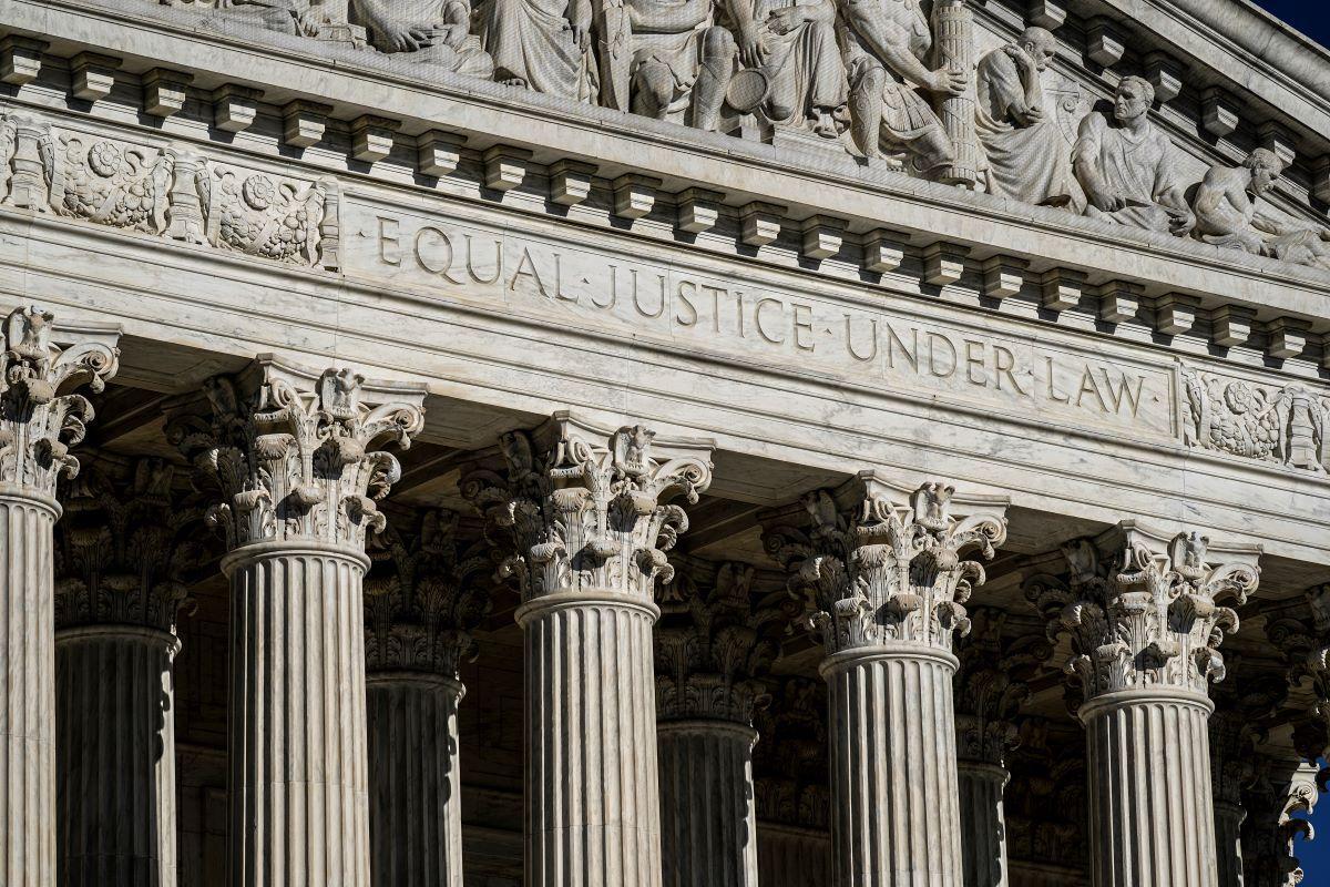 La Corte Suprema en Washington, Estados Unidos.