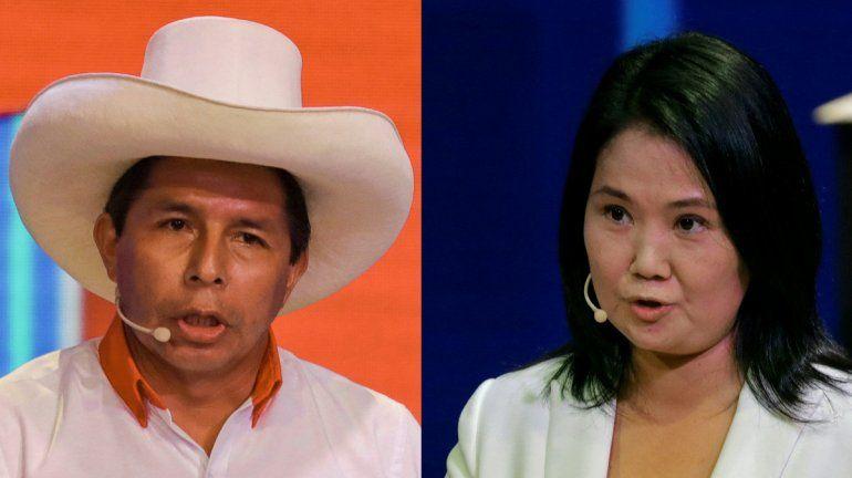 El candidato presidencial peruano por el Partido Perú Libre