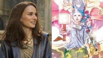 La actriz está inmersa en la lectura de la serie de cómics The Mighty Thor, escrita por Jason Aaron y publicada en 2014, la base de la que partirá Taika Waititi para Thor 4.
