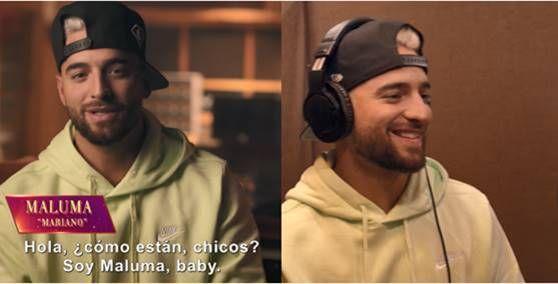 Maluma presta su voz a Mariano en el film Encanto de Disney.