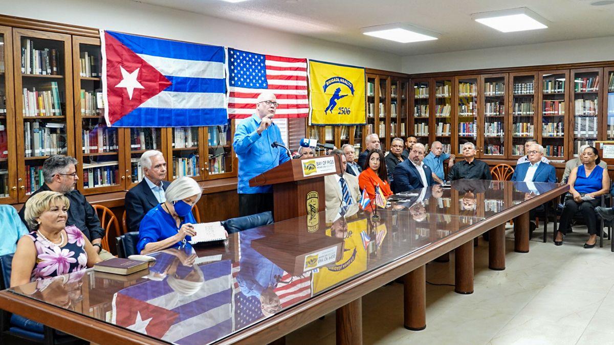 Frente amplio de apoyo al paro nacional en Cuba.