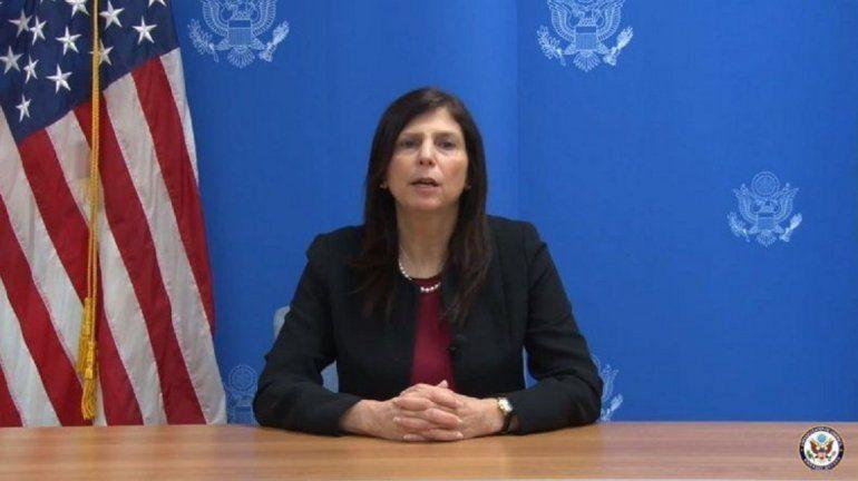 La coordinadora de la Oficina de Asuntos Cubanos del Departamento de Estado de Estados Unidos