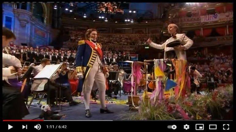 La mezzosoprano Sarah Connolly. Los músicos británicos alzan la voz contra el acuerdo posbrexit que el gobierno de Boris Johnson firmó con la Unión Europea (UE).