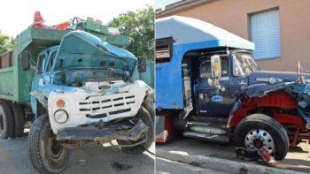La colisión de dos camiones, cuando uno de ellos circulaba de manera irregular, dejó 17 personas heridas este 1ro de abril de 2019 en la provincia de Ciego de Ávila, en el centro oriente de Cuba.