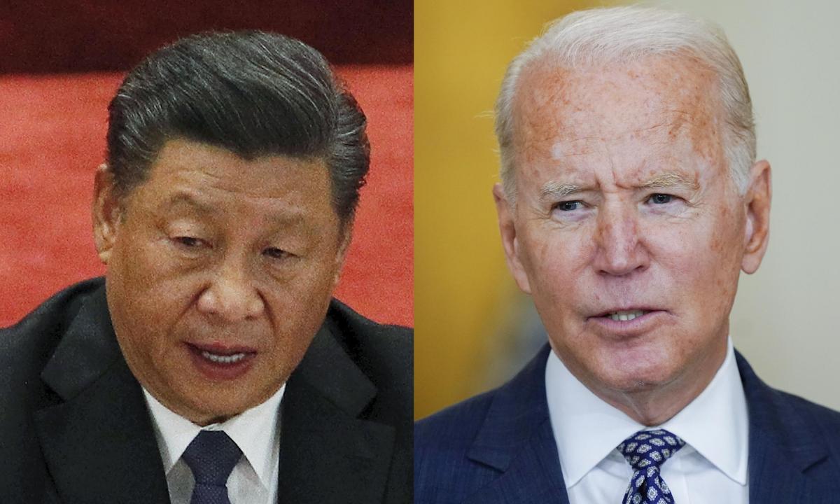Biden y Xi planifican encuentro virtual para fines de año
