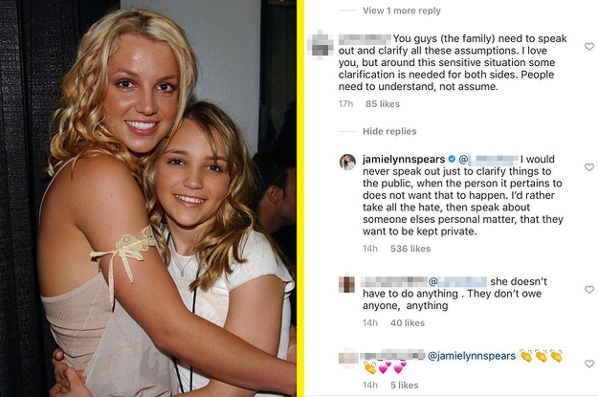 La hermana menor de Britney Spears, Jamie Lynn Spears