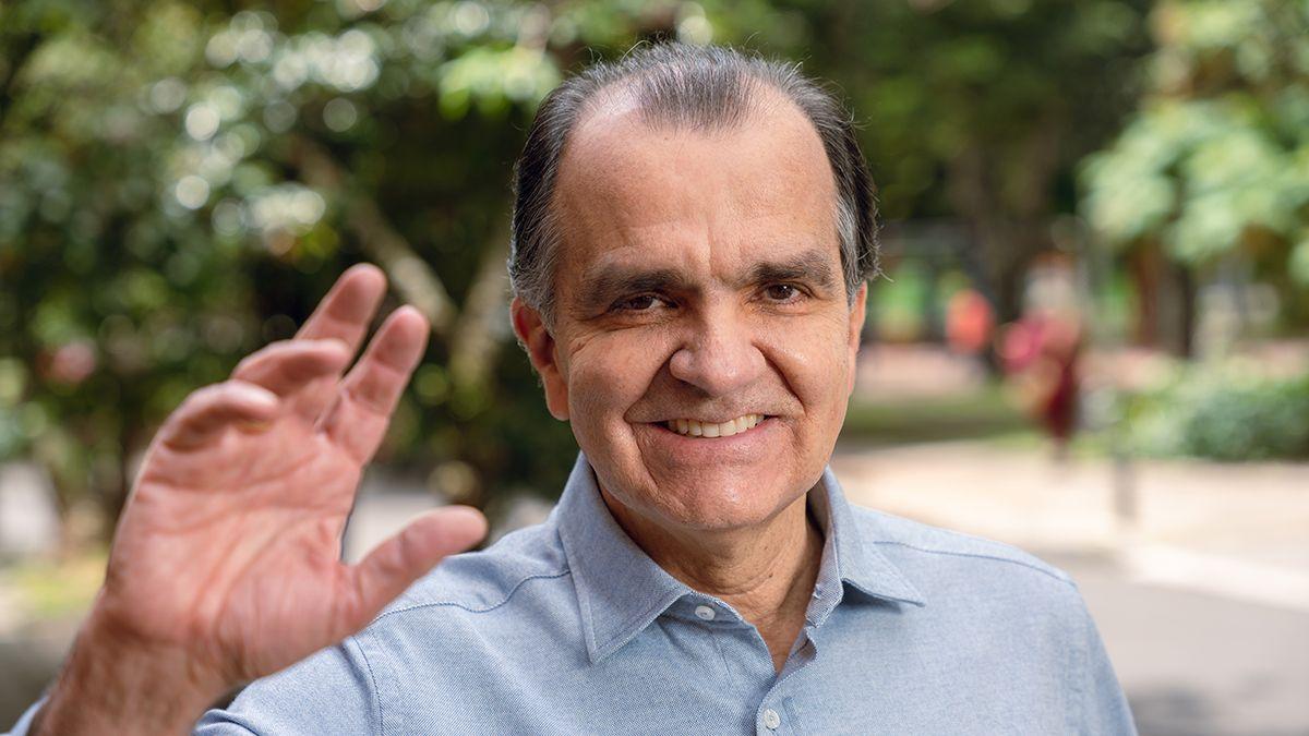 Óscar Iván Zuluaga, precandidato a la presidencia de Colombia.