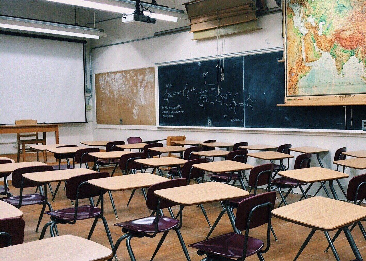 Imagen genérica de un salón de clases.
