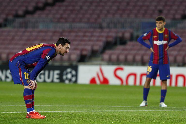 Lionel Messi de Barcelona