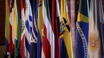 Los países miembros del bloque suramericano son Argentina, Bolivia, Brasil, Chile, Colombia, Ecuador, Guyana, Paraguay, Perú, Surinam, Uruguay y Venezuela