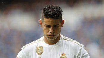 """""""Que alguien haya dicho que James pidió no estar acá simplemente no es verdad"""", enfatizó Queiroz durante una conferencia de prensa en Alicante, España, donde comenzó la preparación de Colombia"""