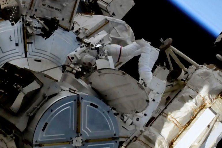 En esta imagen de un video de la NASA
