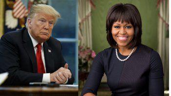 El presidente de Estados Unidos, Donald Trump, y la exprimera dama del país Michelle Obama son considerados por la población como las figuras más admiradas a lo largo de 2020, según la encuesta realizada cada año por la empresa Gallup.