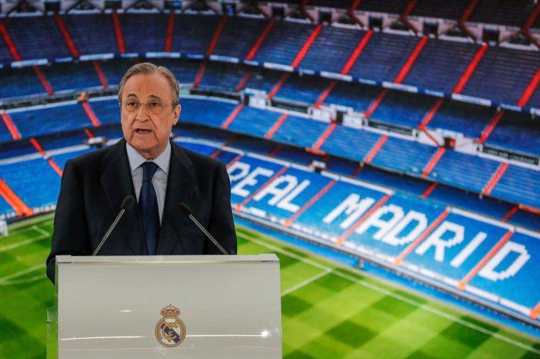 Florentino Pérez afrontará su sexto mandato al frente del club blanco. Presidió al Real Madrid desde 2000 a 2006