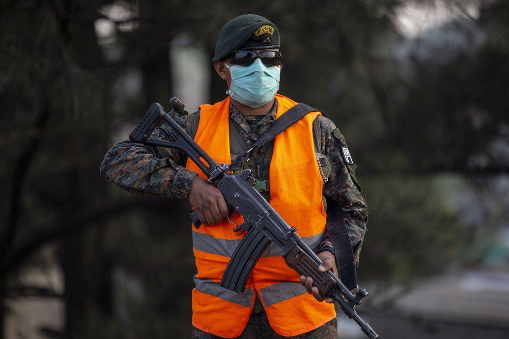 Soldado de Guatemala (Foto referencial)