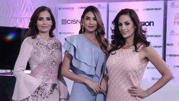 Nina Sicilia, Gabriela Isler y Jacqueline Aguilera, integrantes del Comité Ejecutivo del concurso de belleza hablaron con los medios de comunicación por más de dos horas.
