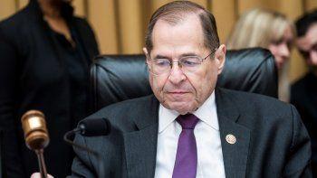 El demócrata Jerrold Nadler, presidente del Comité Judicial de la Cámara de Representantes, preside una audiencia sobre el informe de la trama rusa en Washington D.C.