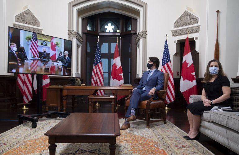 El primer ministro de Canadá