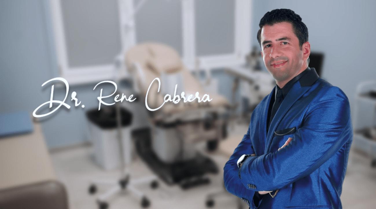 Desde pequeño, René Cabrera supo que su destino era el mundo de la odontología.