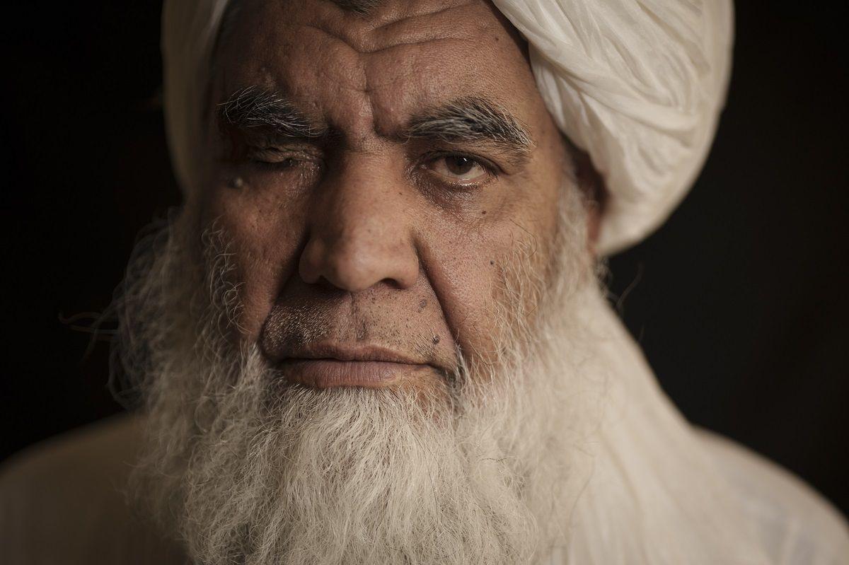 El mulá Nurudín Turabi, uno de los dirigentes del Talibán, en Kabul erl 22 de septiembre del 2021.