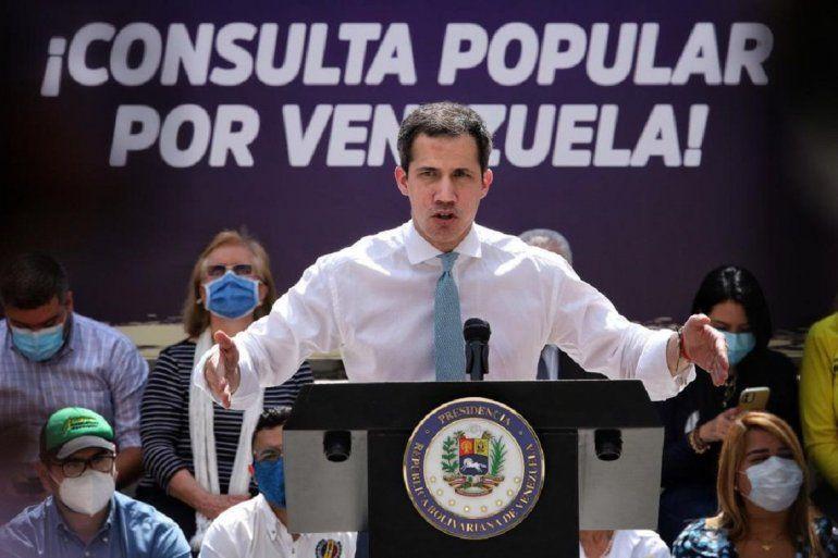 En el mensaje que Guaidó dio a los venezolanos en el cierre de campaña de la Consulta Popular
