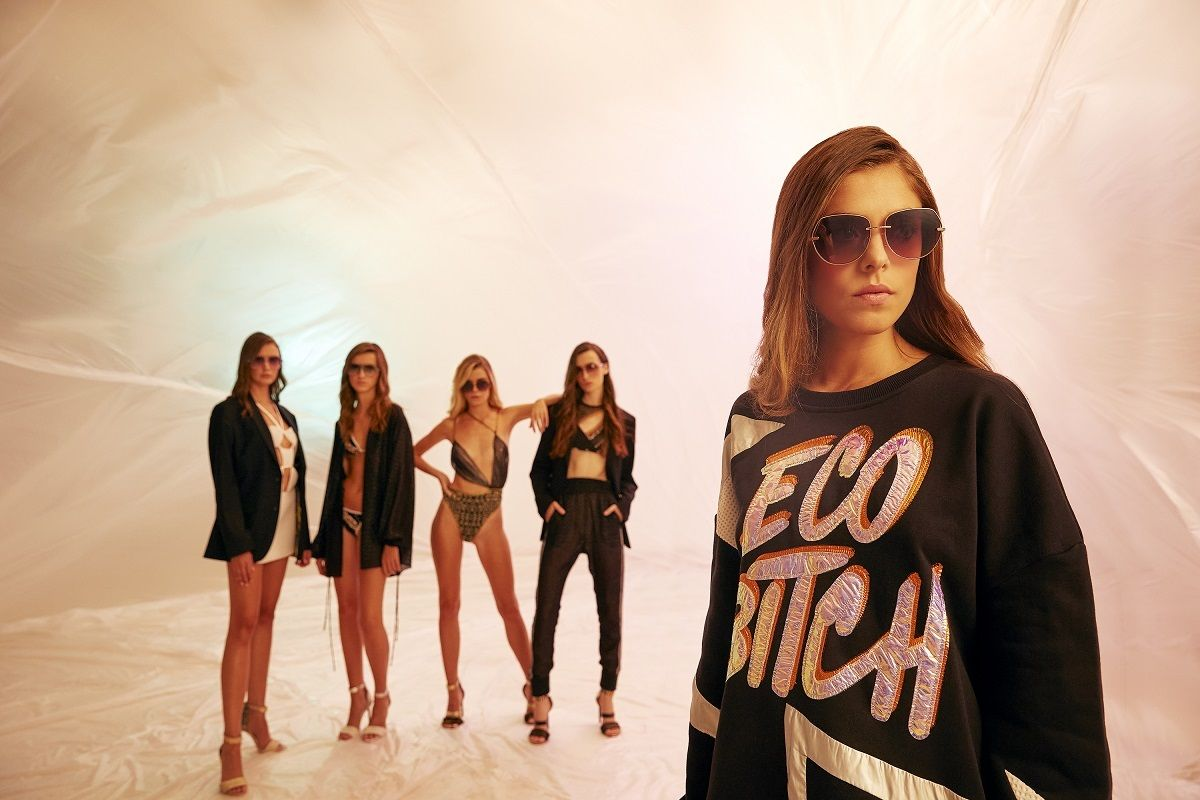 Algunas de las piezas de la nueva colección I Trust Me,que Custo Barcelona lleva a la pasarela de la Semana de la Moda de Nueva York.