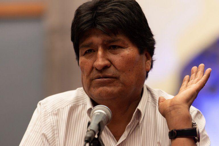 Evo Morales está acusado de sedición y terrorismo por haber ordenado cercar importantes ciudades en el marco de las protestas postelectorales. ARCHIVO.