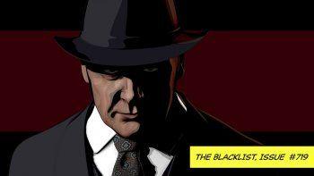 Una versión animada de Raymond Red Reddington, interpretado por James Spader, de la serie The Blacklist en una imagen proporcionada por Sony Pictures Television.