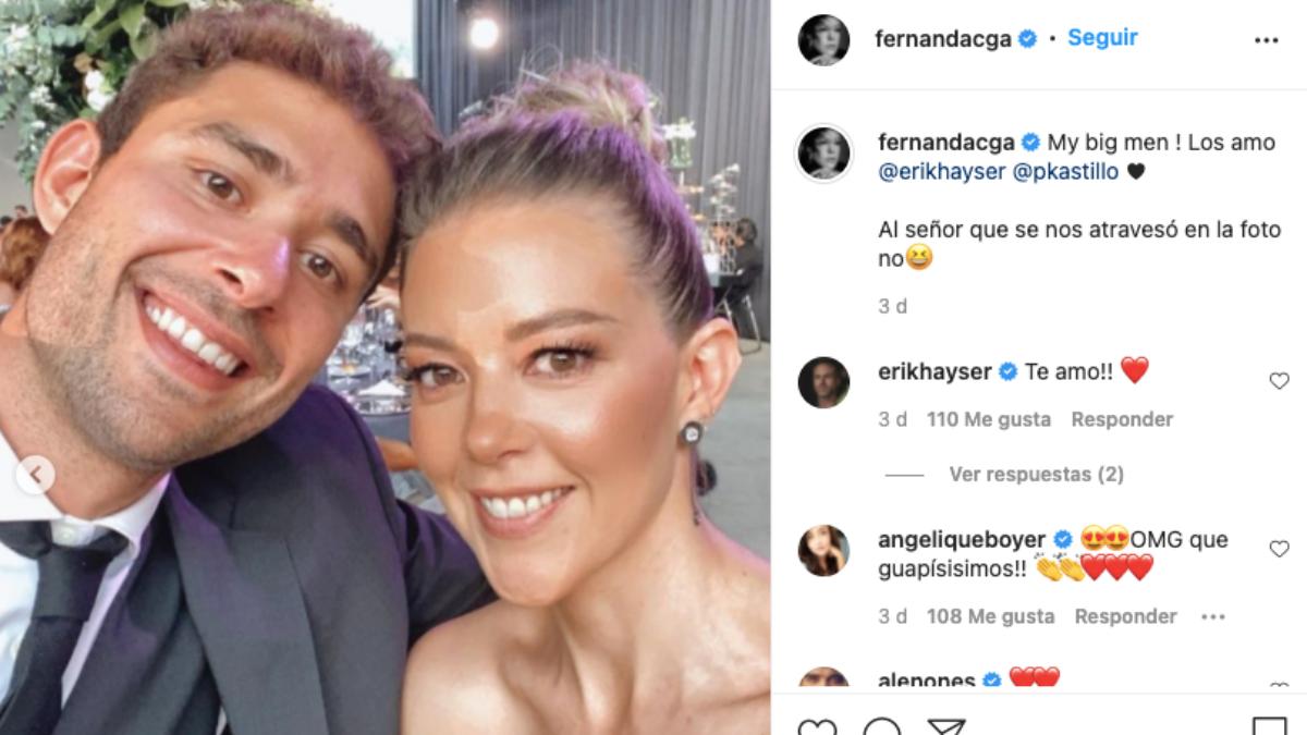 Fernanda Castillo y su hermano Pablo
