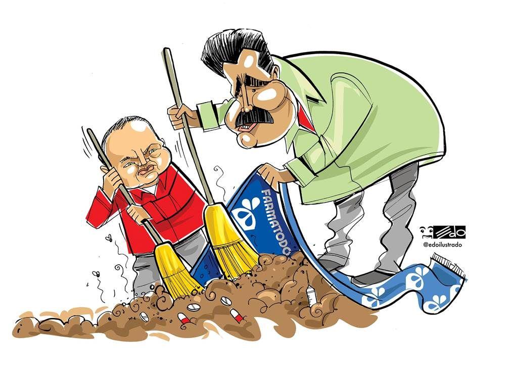 La rapidez con que el Gobierno de Maduro se lanza contra los empresarios contrasta con su actitud ante las graves acusaciones lanzadas contra Cabello.