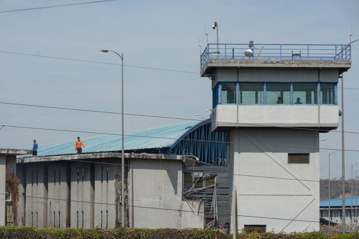 Cárcel del puerto de Guayaquil, Ecuador.