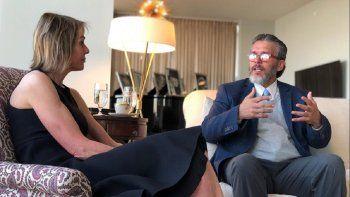 Orlando Viera Blanco,embajador deVenezuelaen Canadá, concretó este jueves una reunión con Kelly Craft, la embajadora de EEUU ante la Organización de las Naciones Unidas.