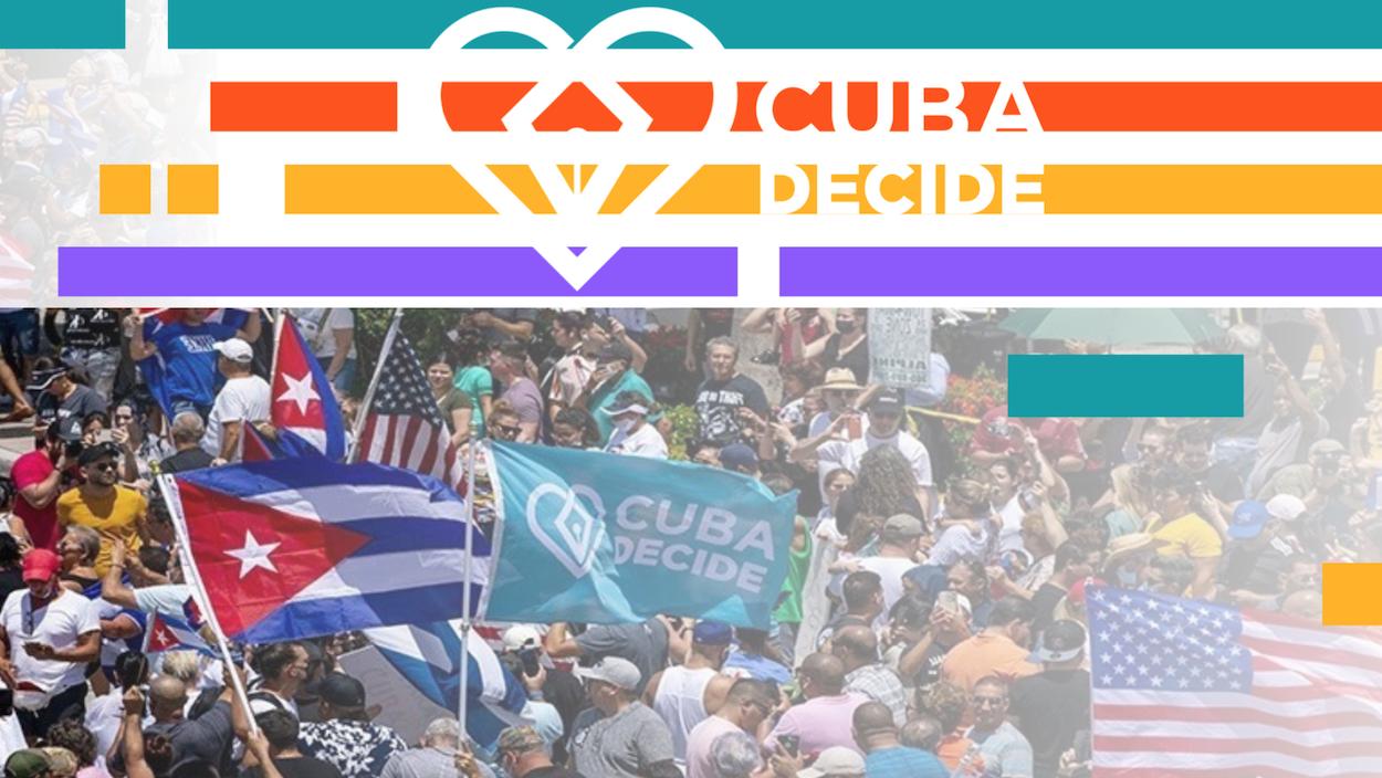 Cuba Decide es una iniciativa ciudadana para cambiar el sistema en Cuba hacia la democracia y el estado de derecho.