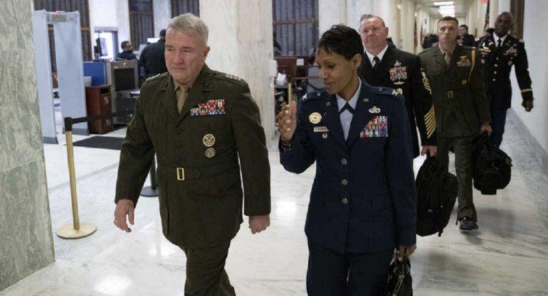 General de EEUU lanza advertencia a Irán . Estamos preparados ante cualquier eventualidad dijo el General Kenneth McKenzie