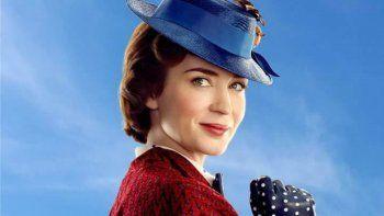 Blunt (Londres, 1983) se mete en la piel de la niñera más famosa del cine en Mary Poppins Returns, secuela del inolvidable clásico de Disney Mary Poppins (1964).