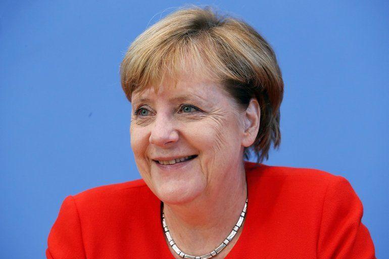 Merkel, pletórica de confianza en la antesala de las elecciones