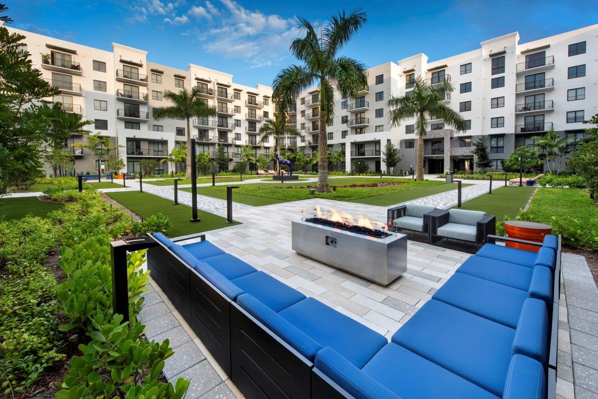 La nueva construcción Sanctuary Doral Apartments.