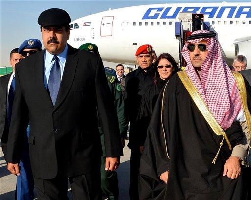 Maduro en Arabia Saudita