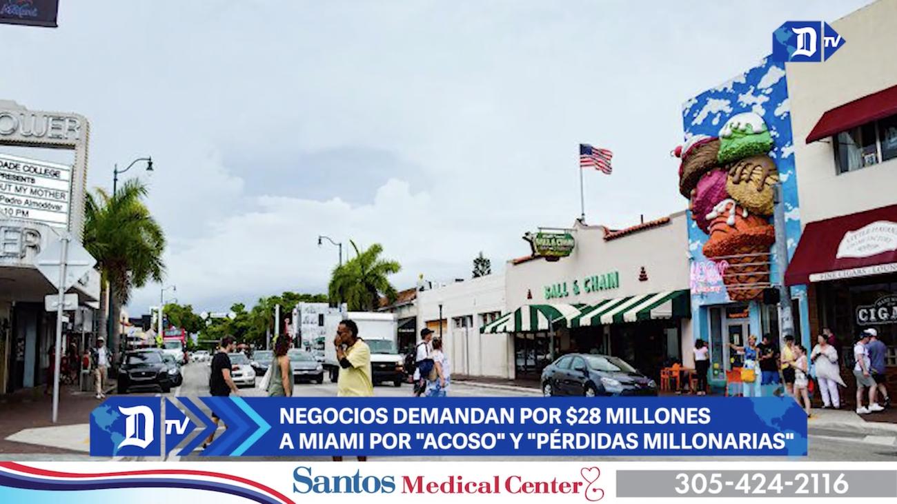 negocios demandan por $28 millones a miami por acoso y perdidas millonarias