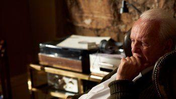 En esta imagen difundida por Sony Pictures Classics, Anthony Hopkins en una escena de The Father (El padre). La cinta, una producción británica-francesa, ganó el premio Goya a la mejor película europea el sábado 6 de marzo de 2021.