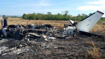 ARCHIVO - Está sería la segunda aeronave que las autoridades hondureñas detectan, en lo que va de 2017, supuestamente transportando droga en el país centroamericano.