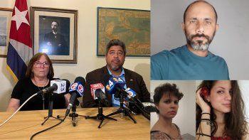 La madre del periodista independiente cubano Henry Constantín Ferreiro, denunció la desaparición de su hijo. También están desaparecidas su esposa Neife Rigau Chiang, y la reportera gráfica Iris Meriño, también de La hora de Cuba.