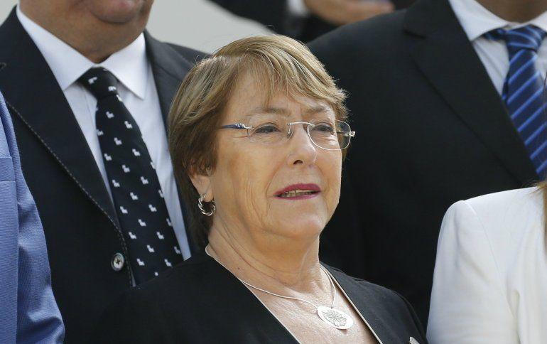 La alta comisionada de las Naciones Unidas para los Derechos Humanos
