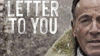 En esta portada proporcionada por Columbia Records el álbum Letter To You de Bruce Springsteen. La música de Springsteen llegará el próximo 23 de octubre .