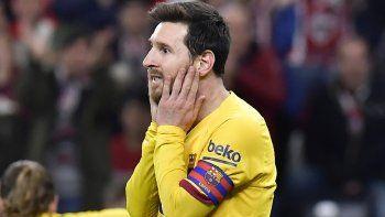 El delantero argentino del Barcelona Lionel Messi durante el partido contra el Athletic Bilbao por la Copa del Rey, el jueves 6 de febrero de 2020, en Bilbao.