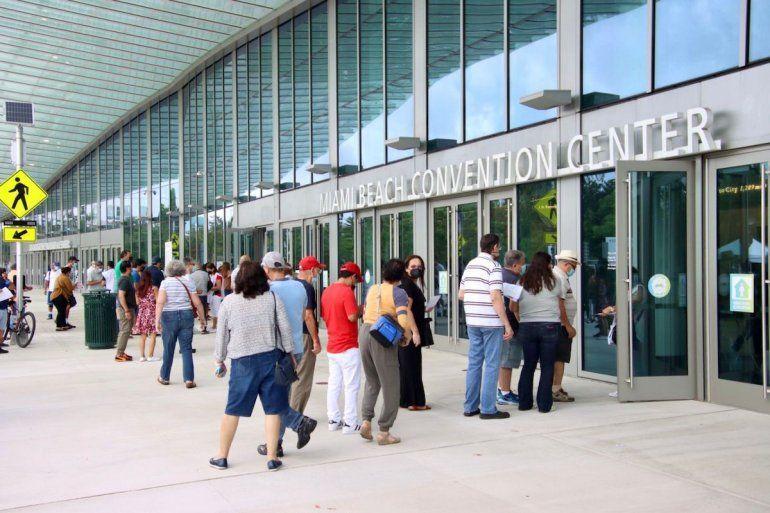 Vista parcial del Miami Beach Convention Center
